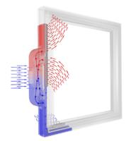 integrierte Fensterlüftung