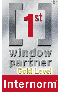 Internorm 1st Window - Gold Level Partner